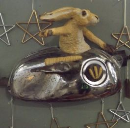 Wall mounted Hare Craft: Click Here To View Larger Image